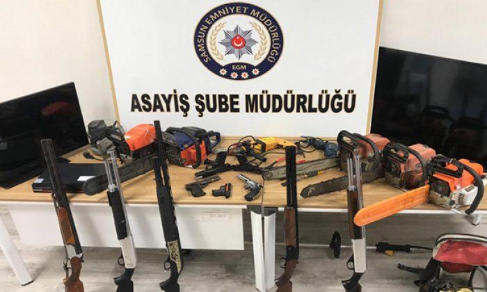 Hırsızlık yapan 11 şüpheli şahıs yakalandı