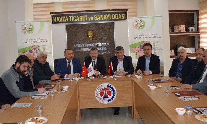 Özdemir'den HASTOP'a ziyaret