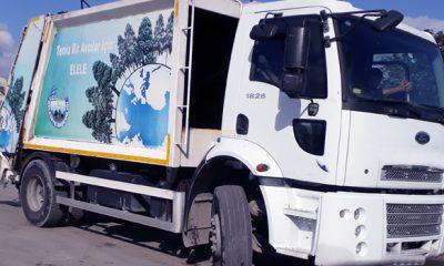 Çöp kamyonu şoförünün mastürbasyon skandalı!