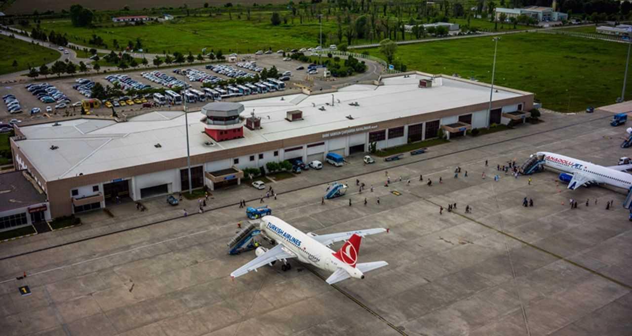 Çarşamba Havalimanı'ndan Ağustos Ayında 142 bin 449 Yolcu Hizmet Aldı