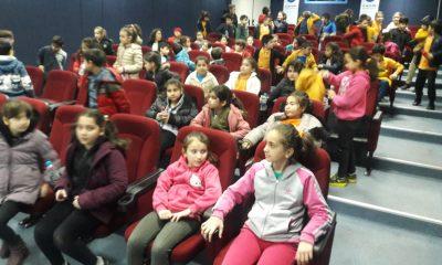Canik'te öğrenciler Çanakkale ruhunu yaşadı