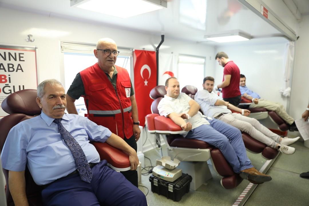 Başkan Demirtaş kan bağışının önemine dikkat çekti