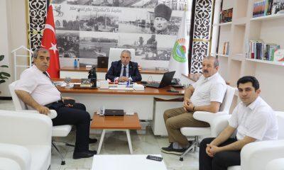 İşkur İl Müdürü Haşim Meydan Başkan Demirtaş'ı ziyaret etti