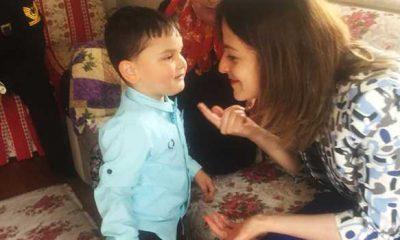 Samsun'da şehit çocuğuna sürpriz doğum günü