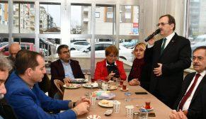 Şahin: Sosyal gelişim projelerimizle geliyoruz