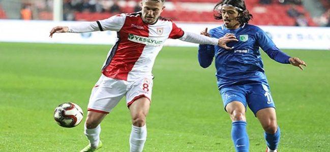 Samsunspor Bodrumspor maç sonucu: 3-1