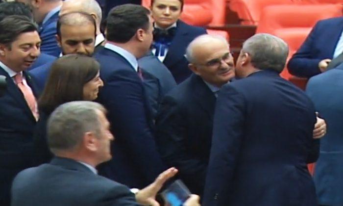 Milletvekili Yılmaz, Meclis Başkanı Şenop'u kutladı