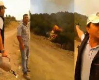 Ağaçları Orman Bakanlığı görevlisi tutuşturdu iddiası!