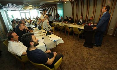 Başkan Genç Gazetecilerle Buluştu