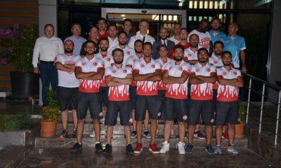 Başkan Topaloğlu Ragbi Milli takımı ile bir araya geldi