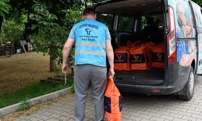 Tekkeköy Belediyesi'nden 2 bin 500 Haneye Ramazan Yardımı