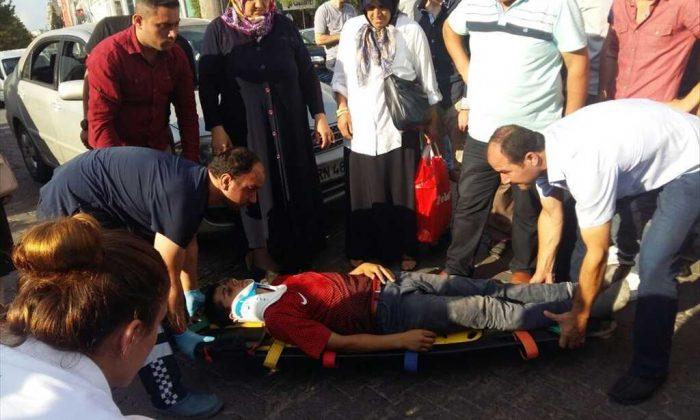 Samsun'da Otomobilin Çarptığı Çocuk Ölümden Döndü
