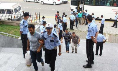 Samsun'da Çoğu Esnaf 17 Kişi Tutuklandı