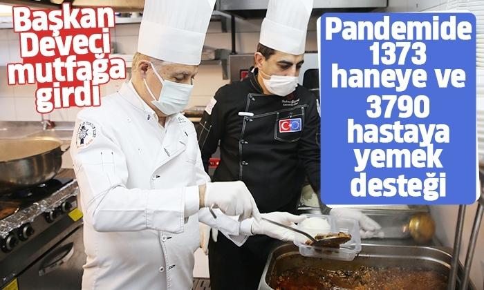 Başkan Cemil Deveci'den Pandemi Destek Ekibi'ne dayanışma ziyareti