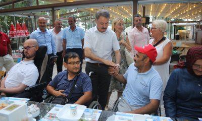 Atakum Belediyesi Engellileri kampta bir araya getirdi
