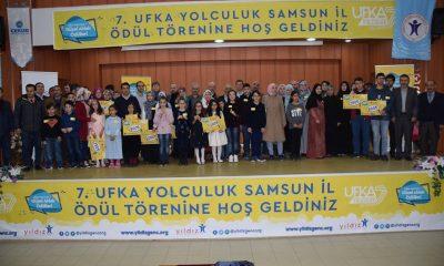 Samsun'da Ufka Yolculuk 7'nin Ödülleri Sahiplerini Buldu