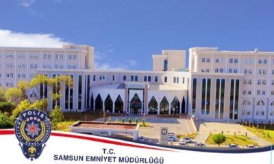 Samsun'un 1 aylık asayiş raporu açıklandı