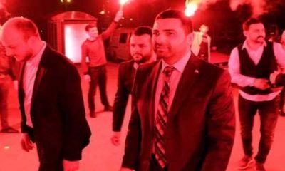 Samsun AK Parti İlkadım İlçe Başkanı Hakan AY aday adaylığı için istifa etti