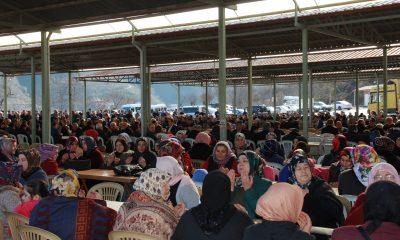 Birlik ve beraberlik yemeğine 5 bin kişi katıldı
