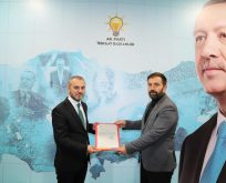 Mahmut Gençbay AK Parti Canik İlçe Başkanı oldu