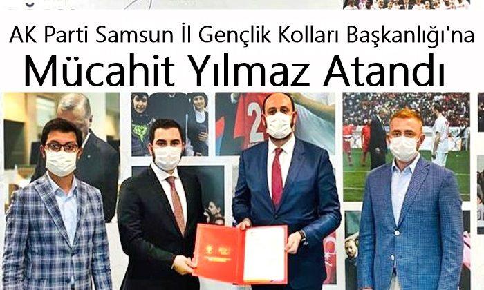 AK Parti Samsun İl Gençlik Kolları Başkanlığı'na Mücahit Yılmaz atandı