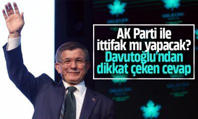 Davutoğlu AK Parti ile ittifak mı yapacak?