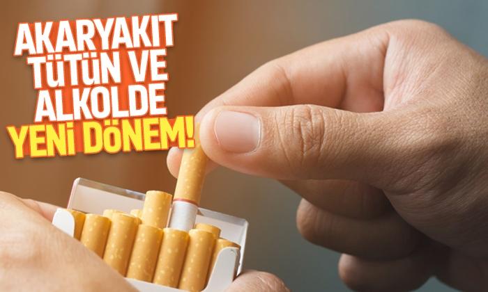 Akaryakıt, tütün ve alkolde yeni dönem! Teklif meclise geldi