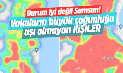 Samsun'da vaka sayısı alarm seviyesine ulaştı