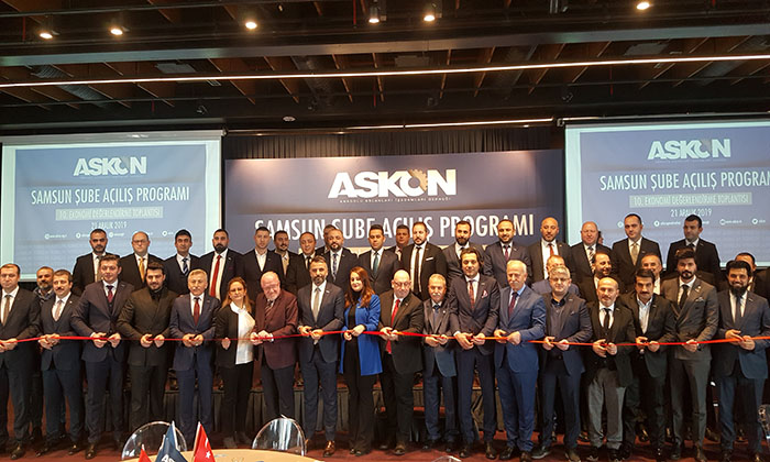 ASKON Samsun şubesi muhteşem törenle açıldı
