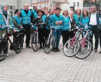 Atakum'da Bisikletini al gel bize katıl etkinliği düzenlendi