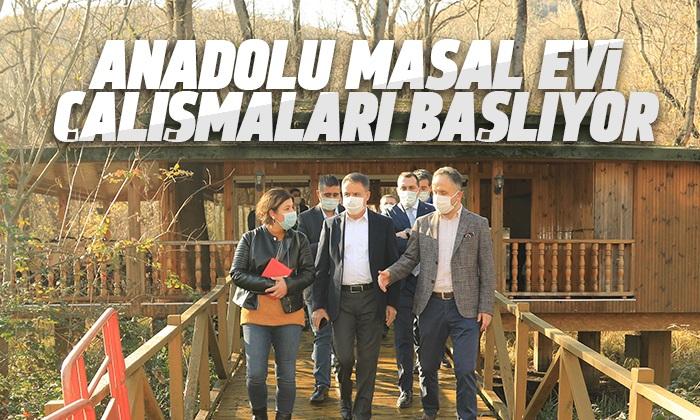 Başkan Cemil Deveci'den Anadolu Masal Evi için inceleme