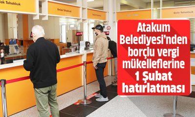 Atakum Belediyesi'nden vergi borcu yapılandırmada son gün hatırlatması
