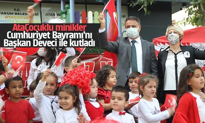 AtaÇocuk Anaokulu Cumhuriyet Bayramı'nda kırmızı-beyaza büründü