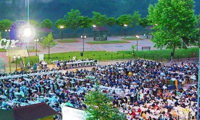 Ayvacık'ta 2000 kişilik iftar