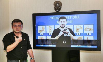 Atakum'da Türk İşaret Dili Akademisi Kuruldu