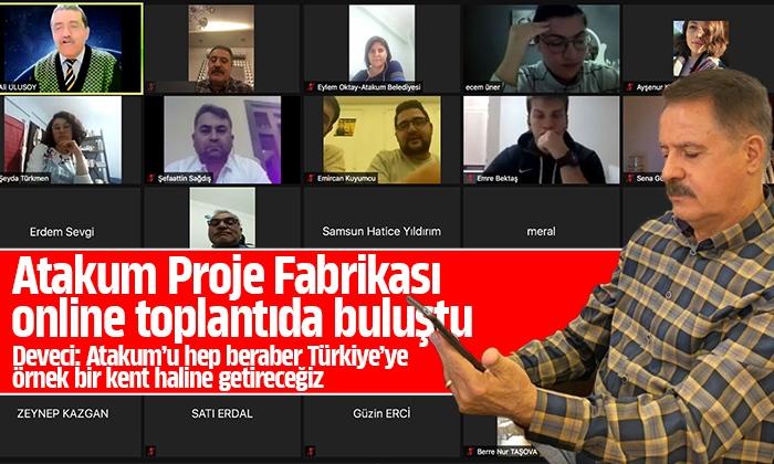 Deveci: Atakum'u hep beraber Türkiye'ye örnek bir kent haline getireceğiz