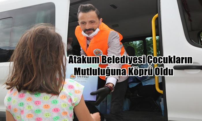Atakum'da mutluluk  yayan dayanışma