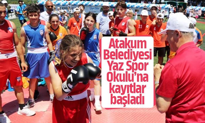 Atakum Belediyesi Yaz Spor Okulu'na kayıtlar başladı