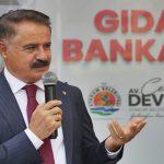 Atakum Belediyesi'nden Karadeniz'in İlk Gıda Bankası AtaMarket'e Coşkulu Açılış
