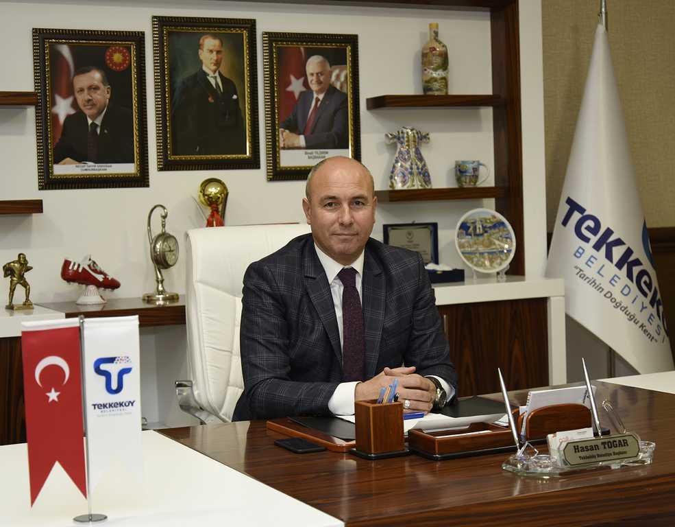 Başkan Togar'dan tebrik mesajı