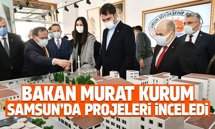 Bakan Kurum Büyükşehir Belediyesi'nde