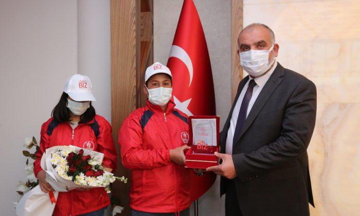 Başkan Sandıkçı'ya Yozgat'tan kardeşlik ziyareti