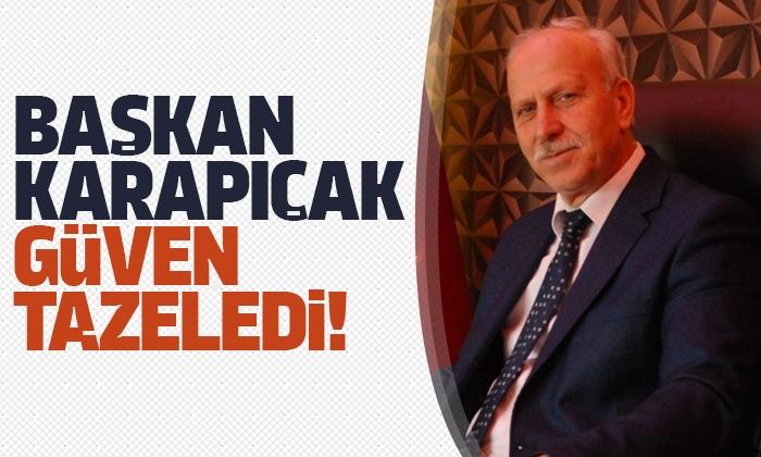 MHP'de Başkan Abdullah Karapıçak Güven Tazeledi