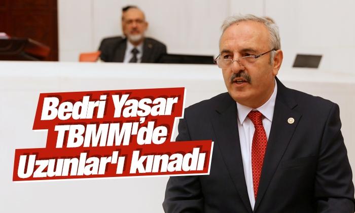 Yaşar: Meclisin kürsüsünden şiddetle, nefretle kınadığımı ifade ediyorum