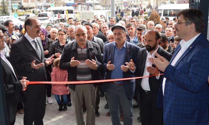 Bağımsız Belediye Başkan Adayı Mahmut Karahan irtibat bürosu açtı