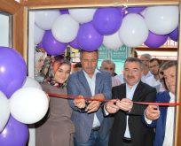 Başkan Özdemir, iş yeri açılışını yaptı