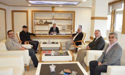 Başkan Özdemir'e hayırlı olsun ziyareti