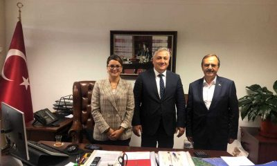 Başkan Zihni Şahin Ankara'da ziyaretlerde bulundu