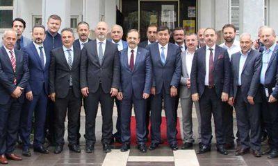 Başkan Şahin'den Havza'ya ziyaret