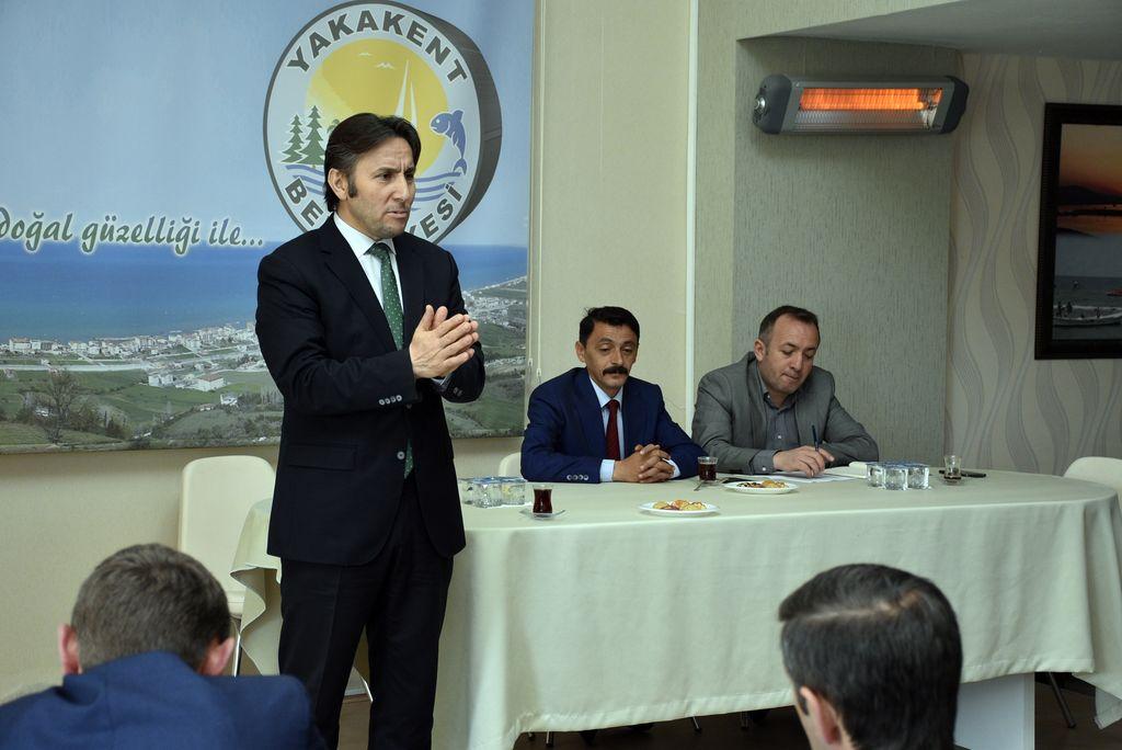 Başkan Kıyma yeni dönem muhtarları ile ilk toplantısını gerçekleştirdi